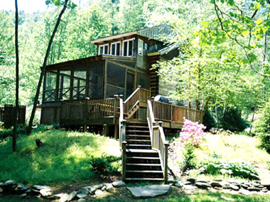 Trout retreat cabin boone north carolina cabin rental for Cabin rentals in boone north carolina